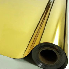 Gold Silver one way Solar mirror Window Film sticker Privacy Adhesive Film Home Decorative Film For Tint Building Office Bedroom film tint solar gold silver mirror effect for window building vlt 15% 1 52mx30m 5ftx100ft