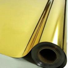 цена Gold Silver one way Solar mirror Window Film sticker Privacy Adhesive Film Home Decorative Film For Tint Building Office Bedroom онлайн в 2017 году