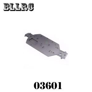 Image 2 - RC car 1/10 HSP 04001 03601 metalowa obudowa ze stopu aluminium części zamienne do Buggy Monster Bigfoot Truck 94107 94170 94118 94111