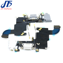 """10pcs For iphone 6S 4.7"""" charging port charger dock connector flex ribbon cable with micro usb headphones jack audio anttenna"""