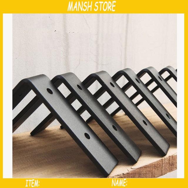 Wandplank 15 Cm.2 Stks Partij Koolstofstaal Driehoek Beugel Metalen Plank Beugel