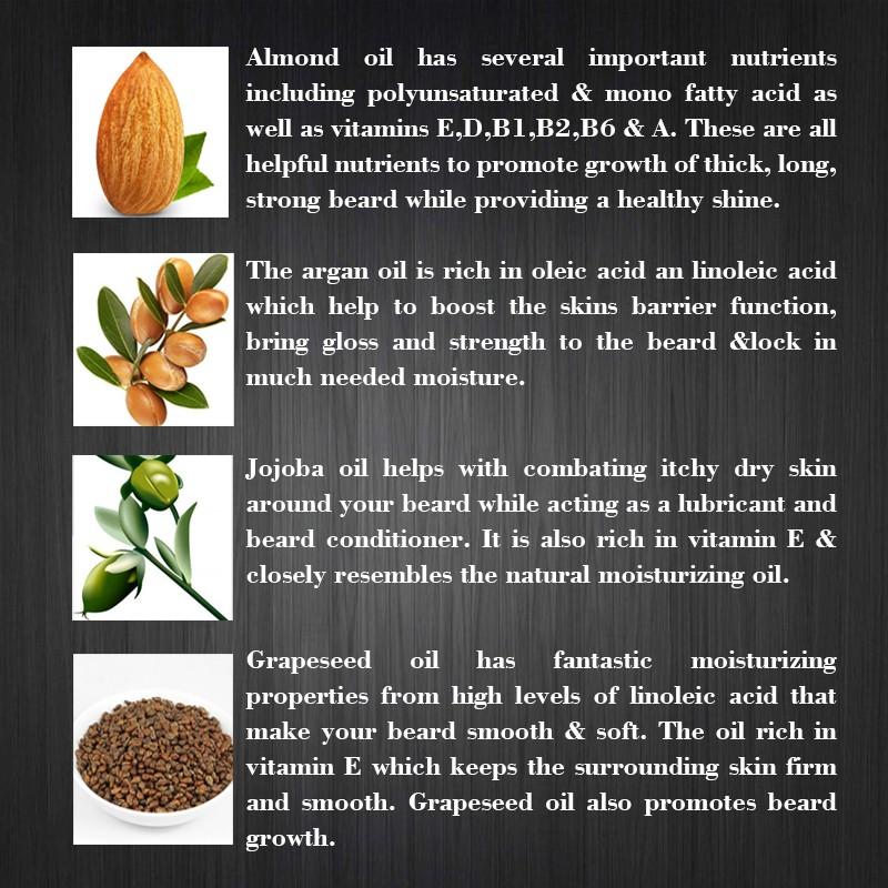HTB1EPNFLpXXXXbkXFXXq6xXFXXX0 - Preboily Beard Oil, Pure Blend of Natural Ingredients with FREE Balm