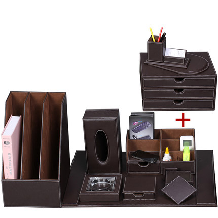 Charmant Aliexpress.com : Buy Luxury Office Sets Of Leather Desktop Stationery  Storage Box Pen Holder Creative Office Supplies Gifts From Reliable Set Of  Suppliers ...