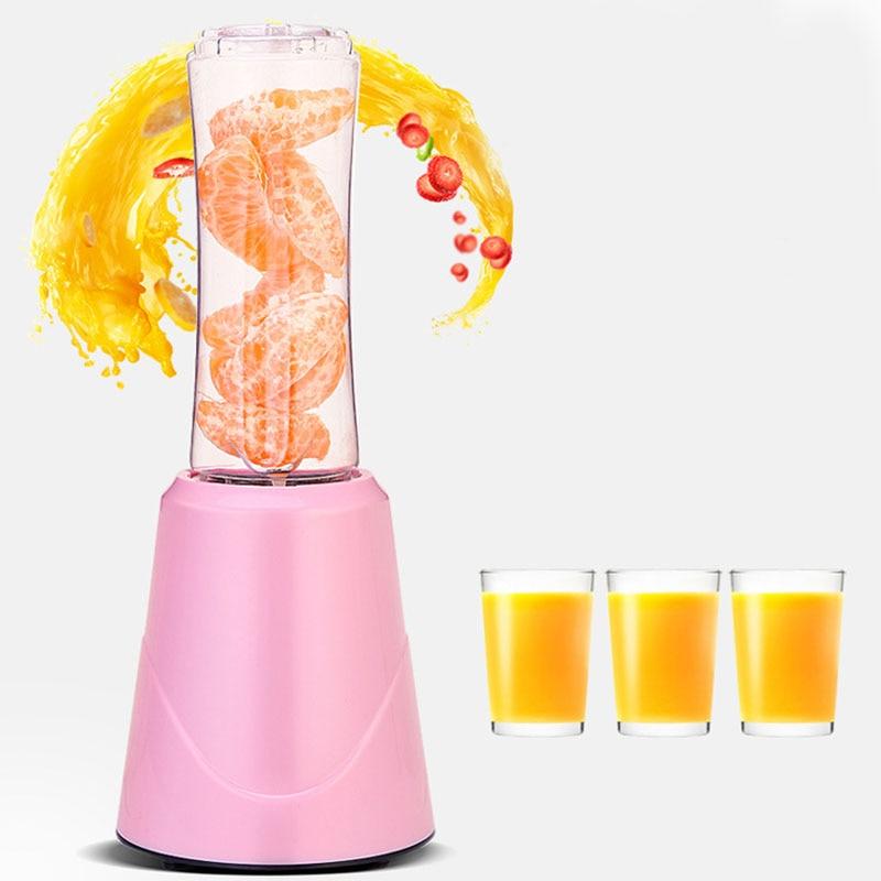 Portable Electric Juicer Blender Fruit Baby Food Milkshake Mixer Meat Grinder Multifunction Juice Maker Machine EU Plug in Juicers from Home Appliances