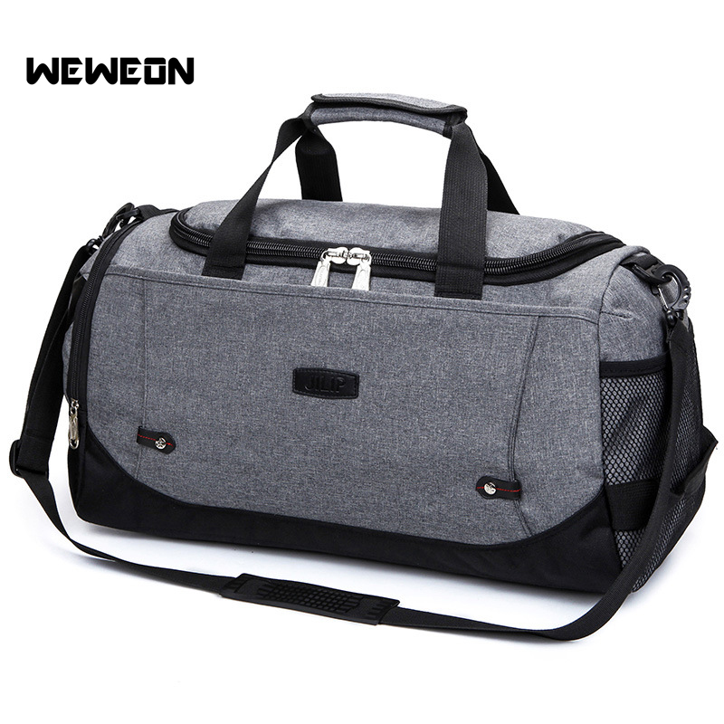 Large Size Canvas Gym Bag For Men and Women Fitness Training Sports Handbag 5 Colors Traveling Shoulder Sport Bag Travel Gym Bag japanese pouch small hand carry green canvas heat preservation lunch box bag for men and women shopping mama bag