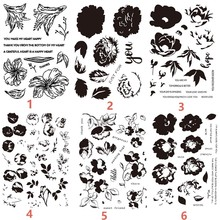 Flowers Clear Stamps