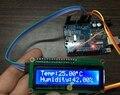 Eletrônico de temperatura e medidor de umidade DHT11 Arduino DIY + + LCD1602