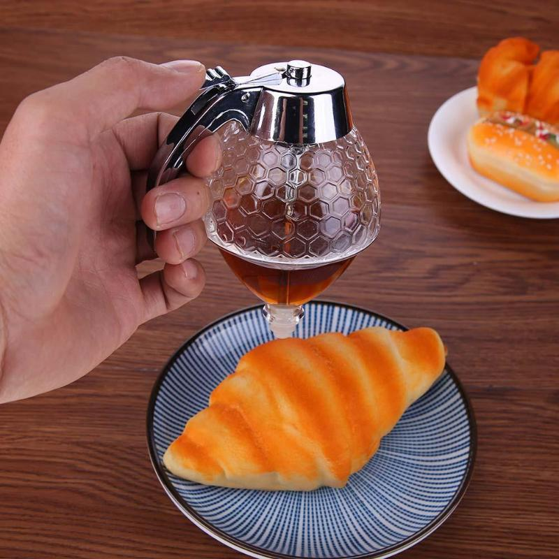 Portable-200ml-Honey-Syrup-Dispenser-Pot-Honeycomb-Bottle-Honey-Squeeze-Dispenser-Kitchen-Spice-Tools (4)