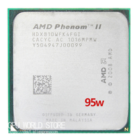 AMD Phenom II X4 810 CPU 2 6Ghz 4M 95W Socket AM3 AM2 938 Pin Processor