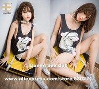 Wmdoll 168 см Одежда высшего качества Секс куклы с полым груди Настоящее взрослых Куклы японский реалистичные любовь куклы Реалистичные Киска И