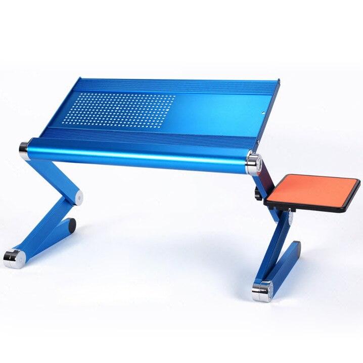 Portable Mini Magique bureau d'ordinateur Avec Souris Conseil Creative Modifiable table d'ordinateur Portable Pour Canapé/Lit/Voyage En Plein Air En Alliage D'aluminium