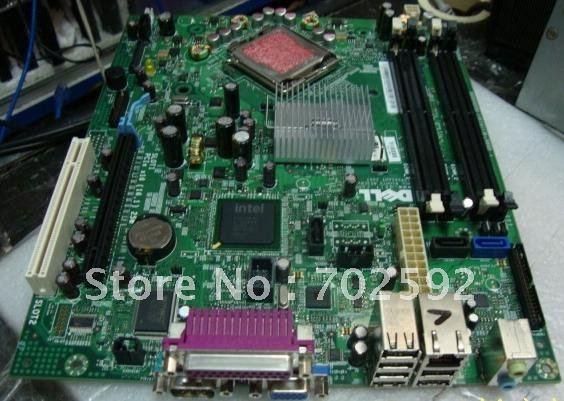 Original OptiPlex 755 SFF Small Case Motherboard For Dell Q35 series PN PU052