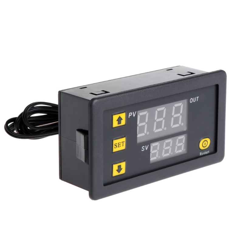 W3230 DC 12V 20A Digital Temperature Controller -50-120 Degree Centigrade Thermostat Regulator