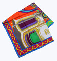 Elegant Square 16MM 100% Twill Silk Scarf TWIC-109121