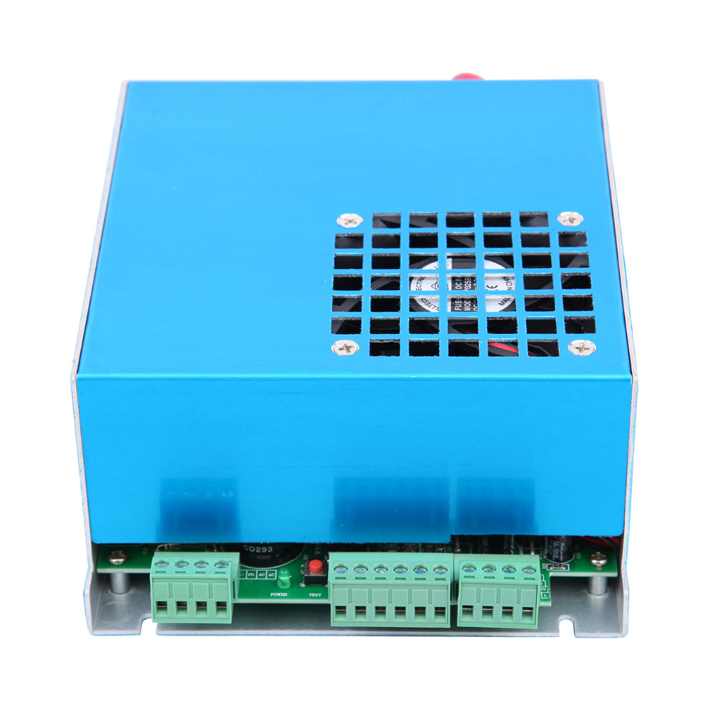50W CO2 Laser Power Supply For Laser Engraver and Engraving Cutting Machine new 400 600mm mini co2 laser engraving cutting machine engraver lz m46a