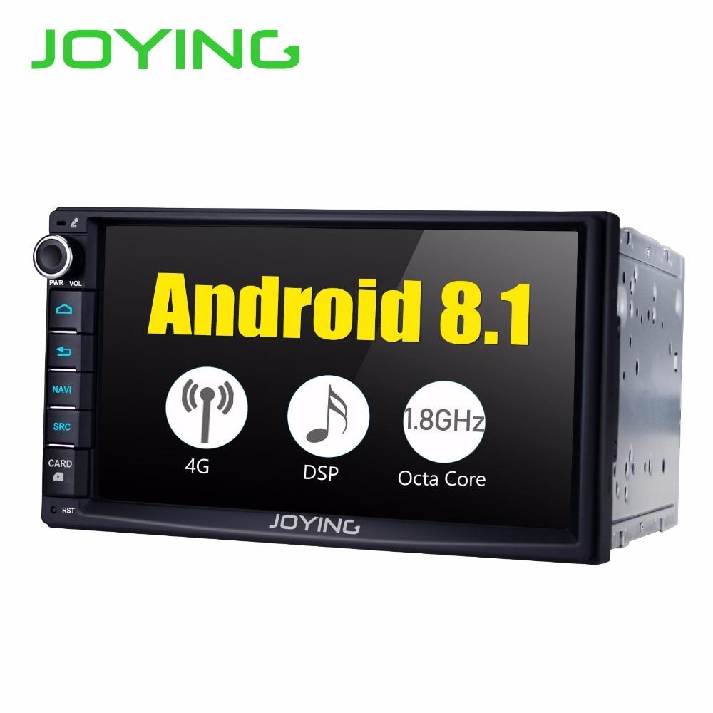 Android 8.1 2 din autoradio lecteur 4 GB + 32 GB Octa core construit dans 4G mudule DSP Soutien apple carplay/rapide boot/écran divisé GPS