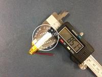 3.7 V lityum polimer pil 803035, ulusal 15 torba sonrası ses kamera, traveling vinç kaydedici, 850 MAH Şarj Edilebilir Li-Ion Cel