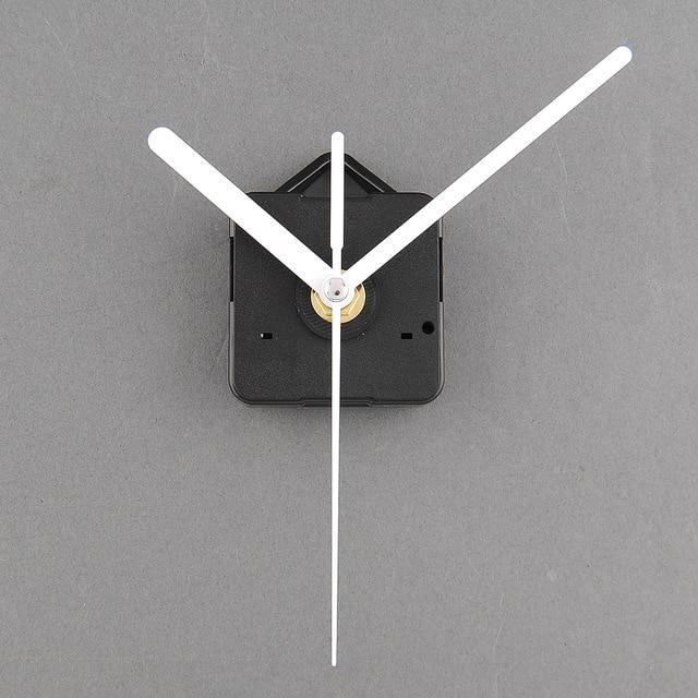 Hot Quartz Useful Clock Movement Mechanism Parts Repairing DIY Essential Tools With White Hands Quiet Silence