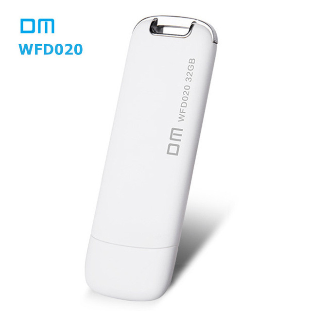 DM WFD020 Wireless USB Flash Drives 32GB WIFI For iPhone / Android / PC Smart Pen Drive Memory Usb Stick Multiplayer With Share