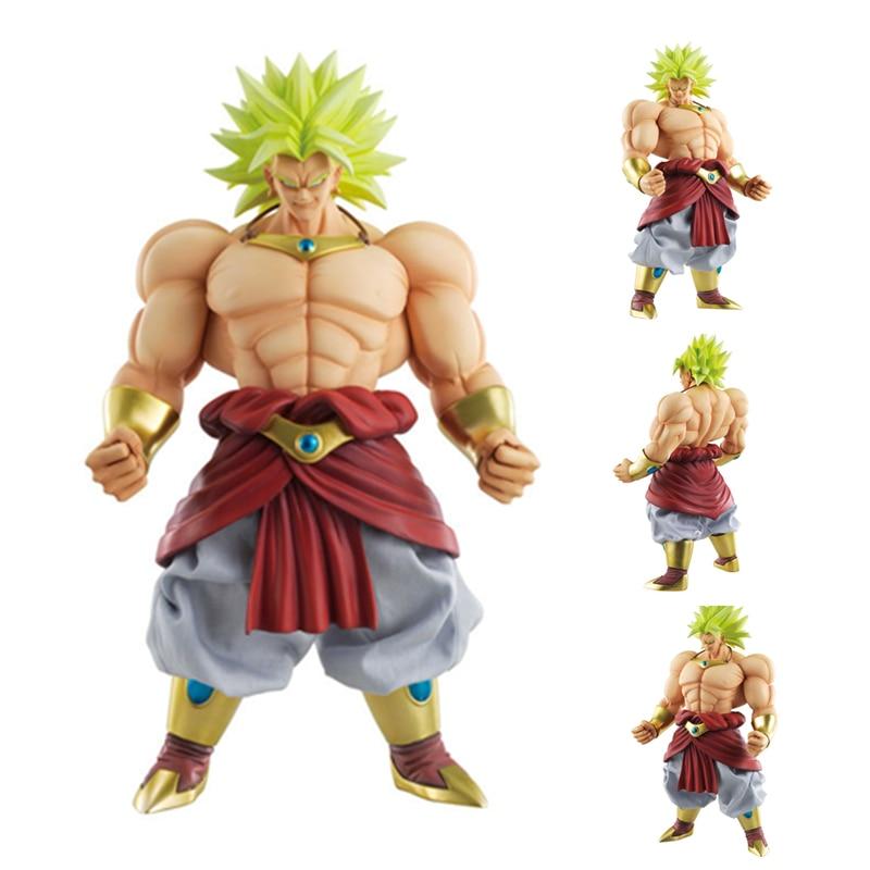Figurine 25 cm figurine Dragon Ball édition Super théâtre Broli DXF ROS figurine Broly Figura Dragon Ball Z modèle PVC jouet poupée