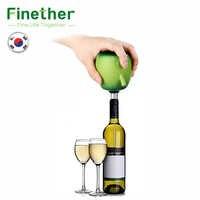 Finether Électrique Verseur À Vin Cidre Décanteur Pompe Apple Conception De Qualité Alimentaire En Acier Inoxydable Ventouse Vin Verser Accessoires Pour La Maison