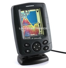 Phiradar Color Boat Fish Finder Depth Finder Echo Sonar Fishing Equipment 3.5 Inch Russian English Multi-Language