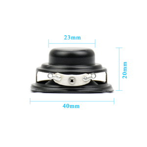 Image 4 - AIYIMA 2Pcs Subwoofer 40MM 1.5Inch Bass Speaker 4Ohm 3W Neodymium Magnetische Bass Multimedia Luidsprekers Diy Audio luidsprekers