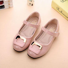 The New Children Shoes Girls Princess Single Shoe Fashion Joker Casual  Kids
