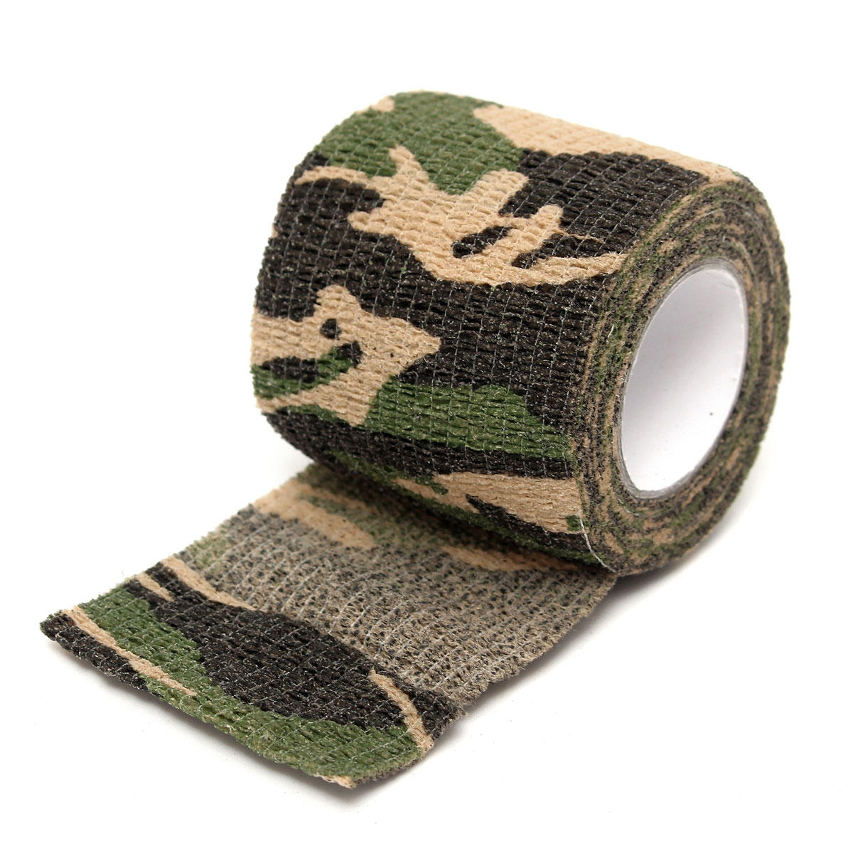 Anti-slip Tattoo Self-adhesive Elastic Bandage Handle Grip Cover Tools Stretchable Individuation Accessory Camouflage 5cm X 4.5m