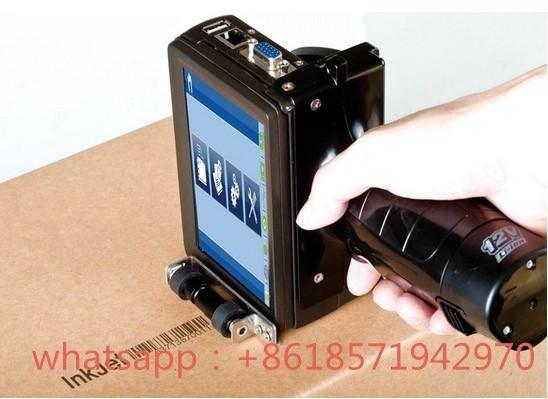 Imprimante à jet d'encre de poche de nouveauté pour l'impression de code en plastique en métal de câble de tuyau de pierre de carton de conseil à vendre