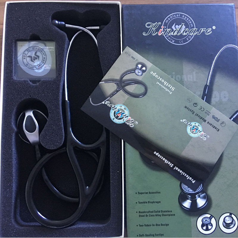 Professional Acoustical Heart-lung Blood Pressure Stethoscope Cardiology Medical Estetoscopio For Doctors Nurses Use