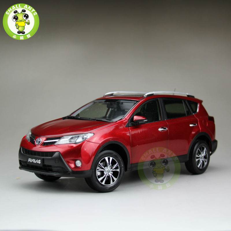 1 18 scale toyota rav4 diecast suv car model toys for gifts collection hobby red in diecasts. Black Bedroom Furniture Sets. Home Design Ideas