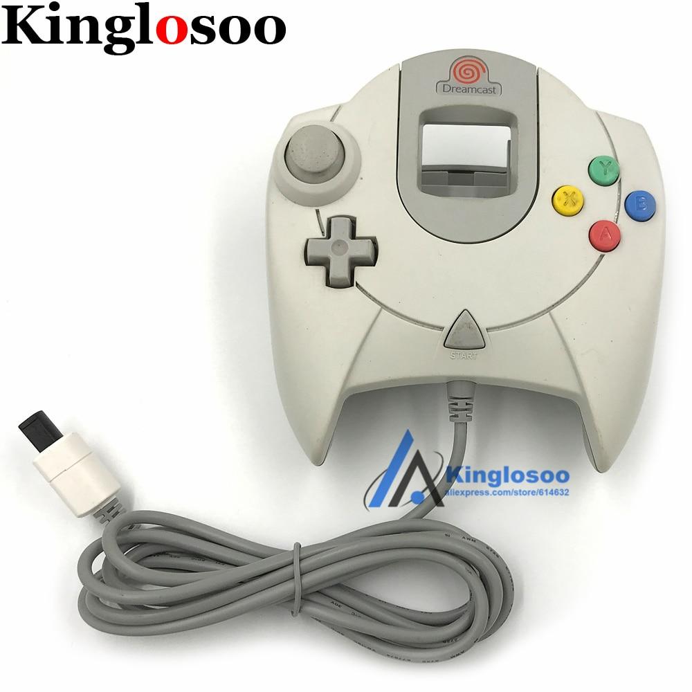 เดิมเกมคอนโทรลเลอร์สำหรับ Dreamcast DC คอนโซลจอยสติ๊ก Gamepads-ใน เกมแพด จาก อุปกรณ์อิเล็กทรอนิกส์ บน AliExpress - 11.11_สิบเอ็ด สิบเอ็ดวันคนโสด 1