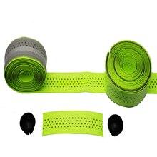 GUB Cycling Road Bike Bicycle Sports Cork Handlebar Tape 2 Bar plug