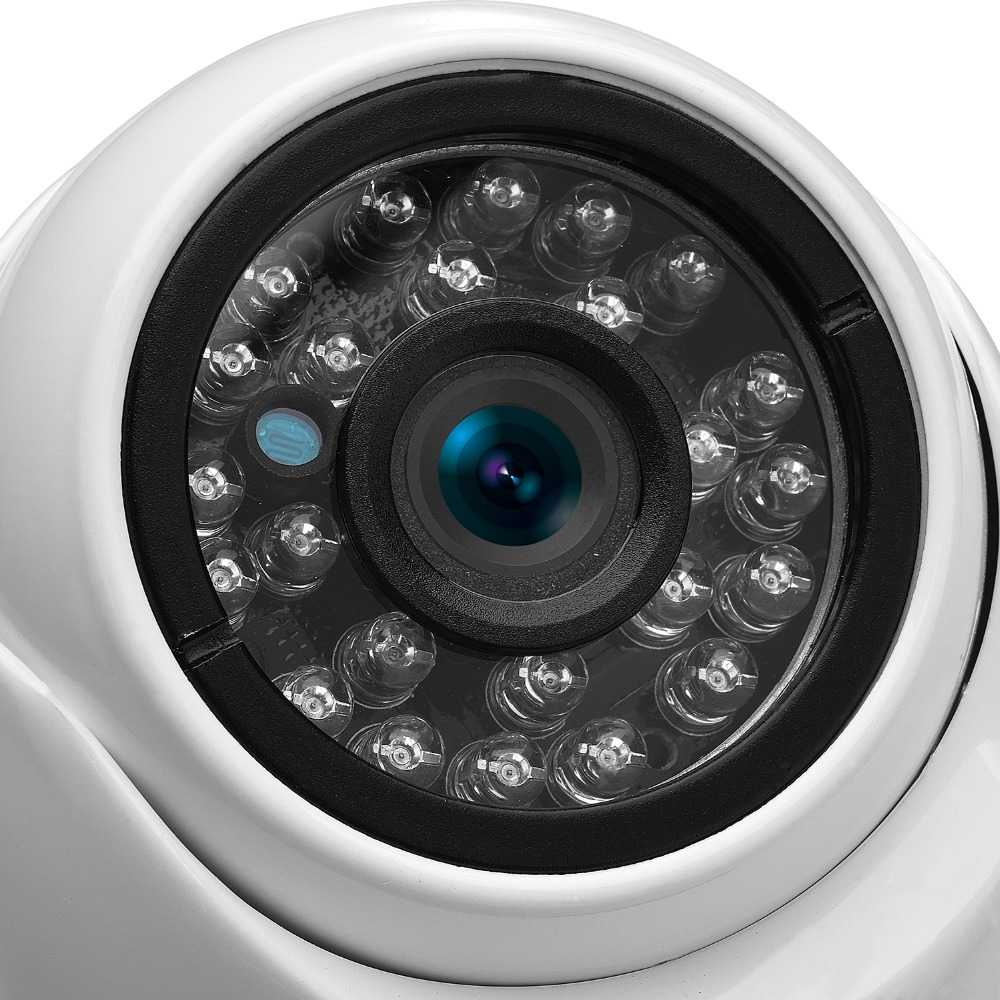 BESDER Wide Angle 2.8mm 720P 960P 1080P PoE CCTV Dome Camera  Indoor Outdoor Vandalproof ONVIF Infrared Metal Case IP camera