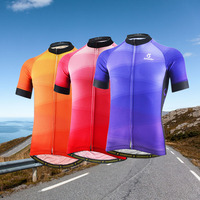 Pro Team Cycling Bike Bicycle Clothing Clothes Short Sleeved Women Men Cycling Jersey Jacket Jersey Top Bicycle Cycling Shirt