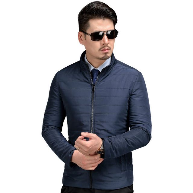 2016 Hot Quilting Memory Farbic Men Coats And Jackets Plus Size High Quality Free Iron Easy Care Mens Spring Autumn Coats B24