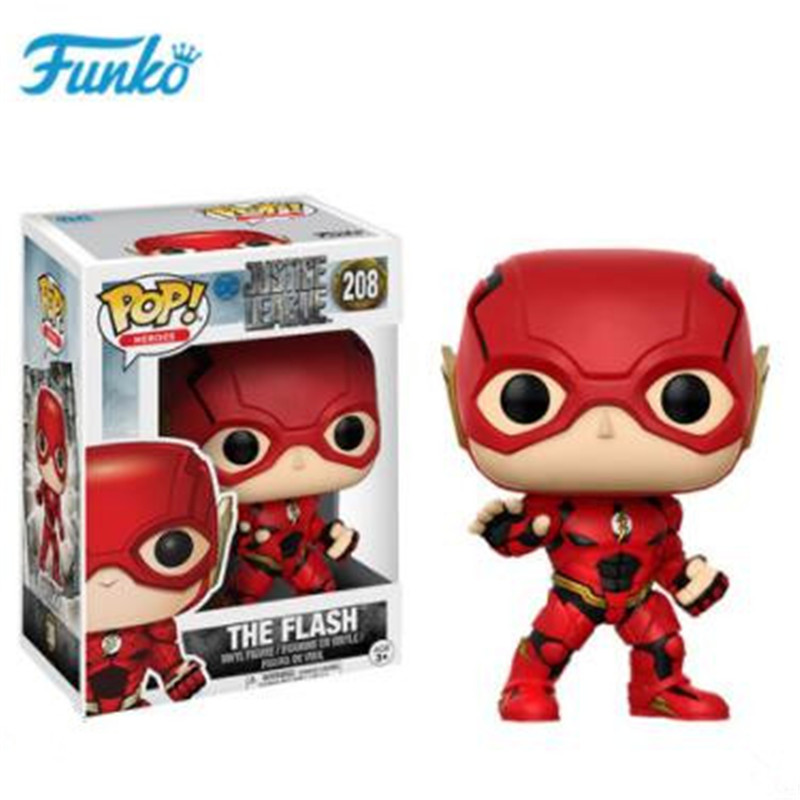 FUNKO POP 1pcs Official Flash Human Vinyl Action Figures Model Gift Collection Good Choice For The Movie Fan