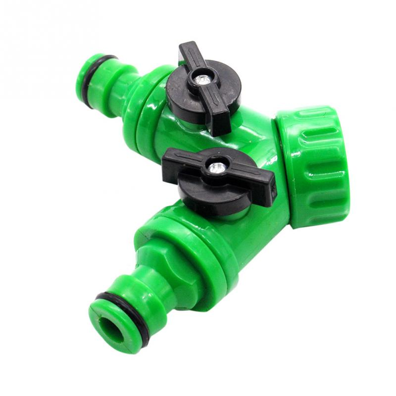 New arrival abs plastic hose pipe tool 2 way connector 2 for Plastic plumbing hose