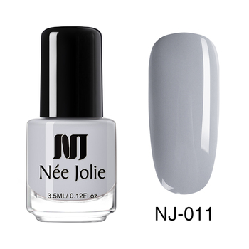 Coffee Gray Red Series Nail Art Polish Beauty & Skin Care Nail Art Color: 3.5ml NJ011