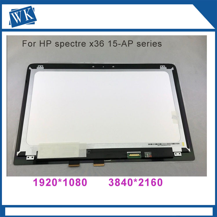 15.6 inch LCD LED Display Touch Digitizer Assembly For HP Spectre X360 15-ap series 15-ap018ca 15-ap011dx 15-ap062nr 15-ap052n