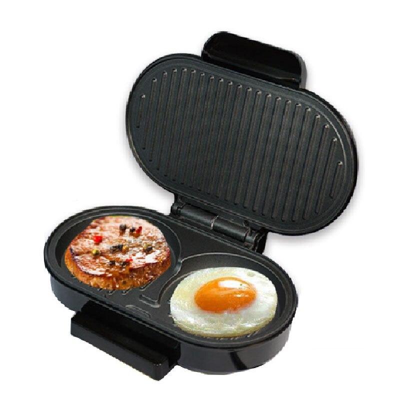 JamieLin Hot Mini Steak Panini Hamburger Grill Meat Roaster Electric Egg Frying Pan Sandwich Maker For Sale