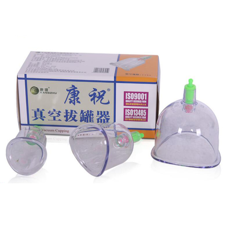 Chinese cupping Kangzhu U Curved Vacuum Cupping Suction Joint 3 cup cupping therapy joints cups Traditional Acupuncture Massage povihome 12pcs cupping device acupuncture suction cup set massage cup magnetic therapy vacuum cups tank gas cylinders c839