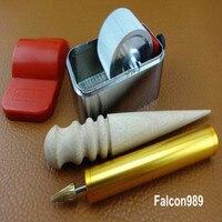 3pcs Leather Craft Table Top Pro Edge Dye Dyeing Roller Applicator Tool Kit Set