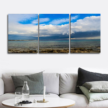 Laeacco Abstract Nordic Home Decoration Sea Blue Sky Pictures Posters and Prints Art Charts Canvas Paintings on the Wall