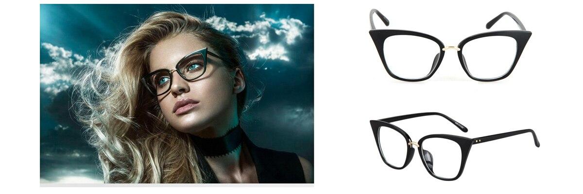 a87a1f3b3e мода Оптически Рамки. AOUBOU Women Brown Glasses Myopic Eyewear ...