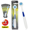 (5Packs/lot) Pesitro Tongue Scraper Brush Oral Hygiene Dental Hygiene Tongue Cleaning Brush Oral Care Toothbrush Tongschraper