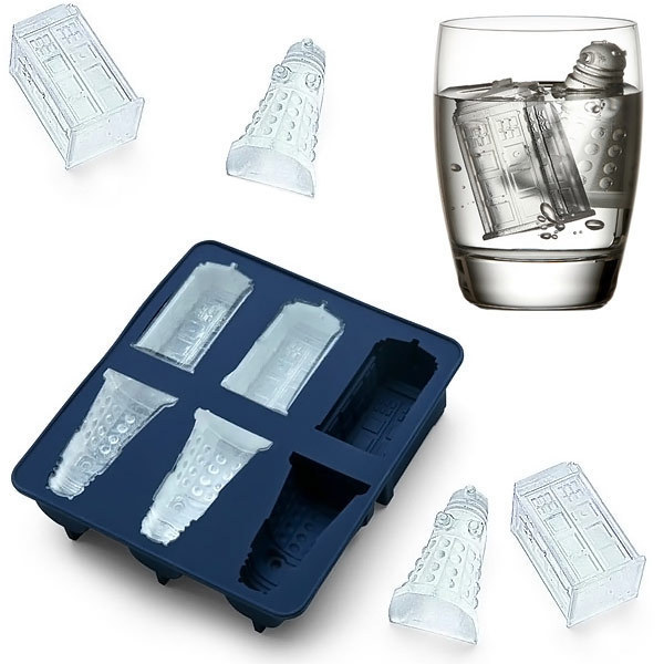 Dr Doctor Who Tardis Ice Cube Mold Maker Bar Party Silikon Trays Gelee Schokolade Gelatine Form Küche Werkzeug