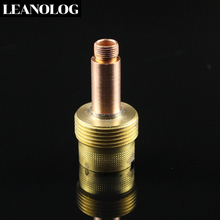 Welding Machine Accessories TIG Welding Torch Consumables 2.4mm Large Long Net Gas Lens Fit WP 17 18 26 Series Welding Torch welding tools tig welding machine accessories wp17 18 26 torch consumables 54n01 54n63 large gas lens insulator gasket