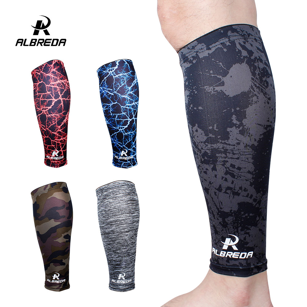 1 piece Sports Safety football Basketball Leg Sleeve Outdoor Sports Running Compression Calf Sleeves Stretch Leggings knee pads
